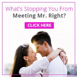 What's stopping you from meeting Mr Right? Click here to find out